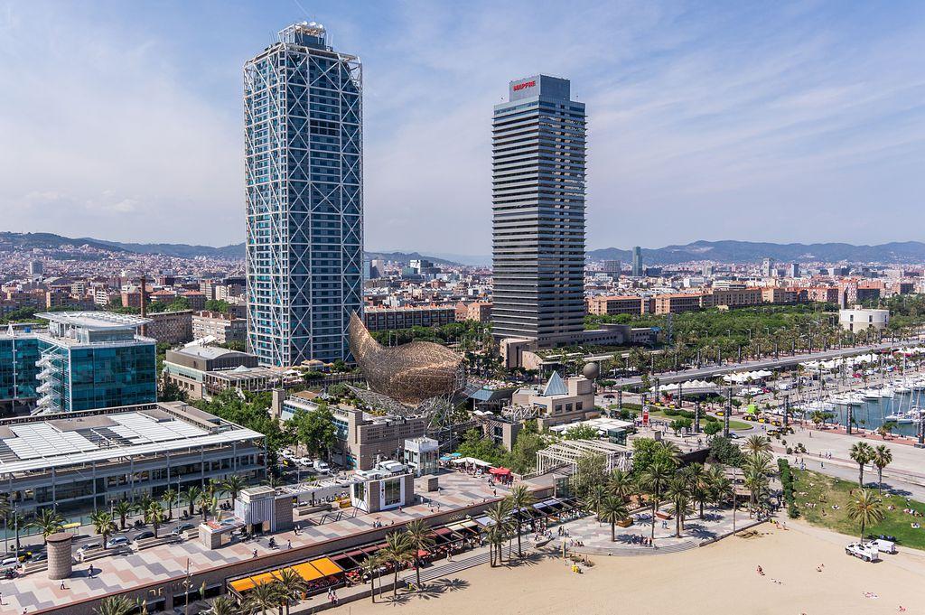 edificios más altos de Cataluña