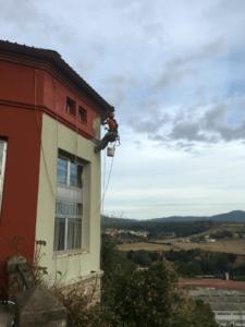 Trabajos verticales de pintura en Sabadell