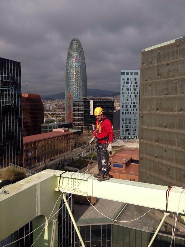 técnico en trabajos verticales en barcelona
