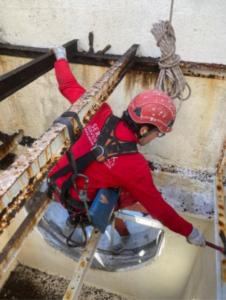 trabajos verticales industria ERCROS
