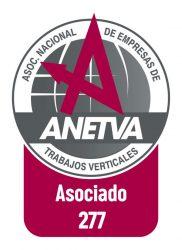 certificado trabajos verticales ANETVA