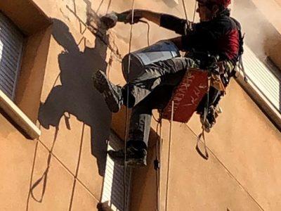 Reparación y mantenimiento de fachadas