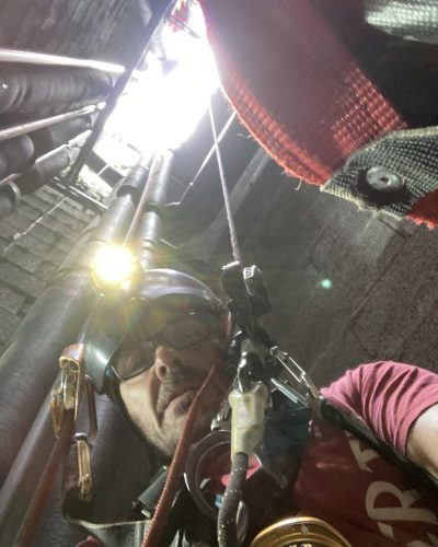 trabajos verticales en lugares de difícil acceso