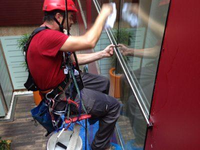 Trabajador especializado en trabajos verticales