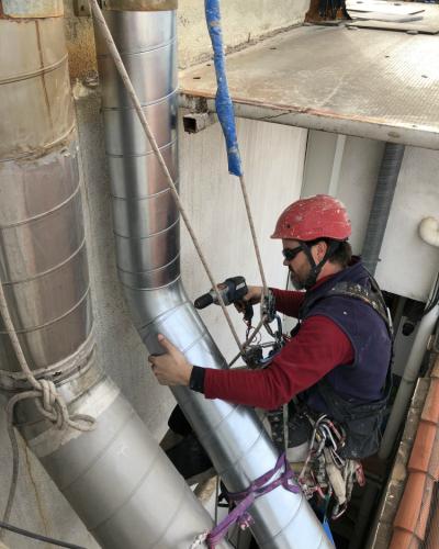 Trabajos verticales en Sabadell