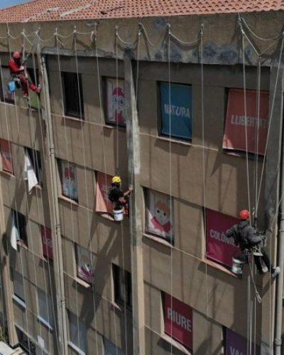 trabajos verticales edificación